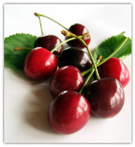 3 POUNDS CHERRIES PRICE  INCLUDES TWO DAY SHIPPING