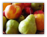 10 LBS. WASHINGTON APPLES AND PEARS  IN A GIFT BOX PRICE  INCLUDES 3 DAY SHIPPING