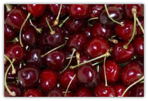 12 POUNDS CHERRIES INCLUCDES TWO DAY SHIPPING