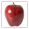 7 POUNDS RED DELICIOUS APPLES GIFT BOX --TWO DAY SHIPPING INCLUDED IN PRICE